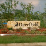 Deerfield sign by granite signs of oklahoma city