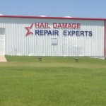 hail damage repair experts custom sign