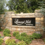 Lamond Hill at Fairfax community sign